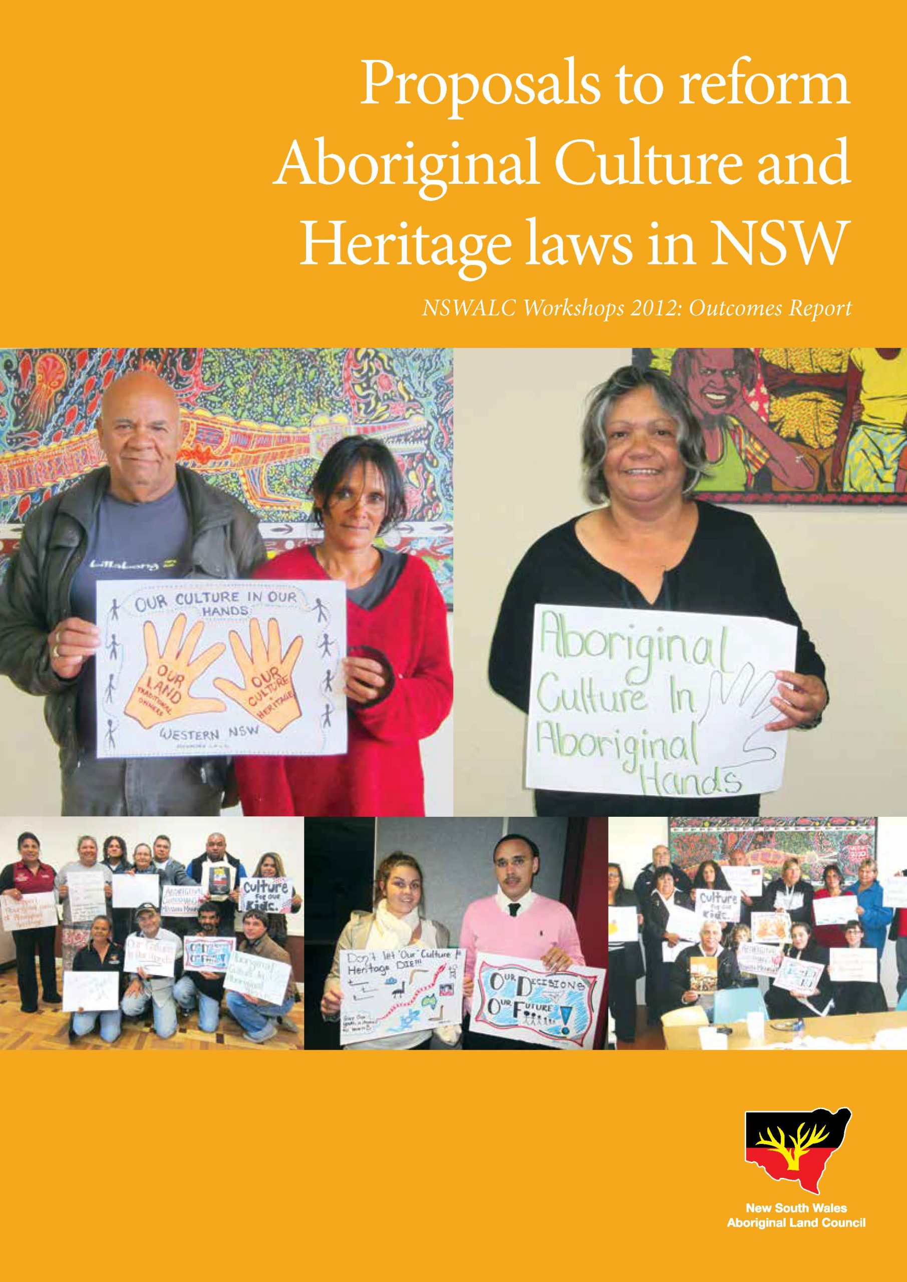 Aboriginal Culture and Heritage Reforms Proposal